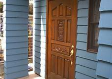 ドア塗替え